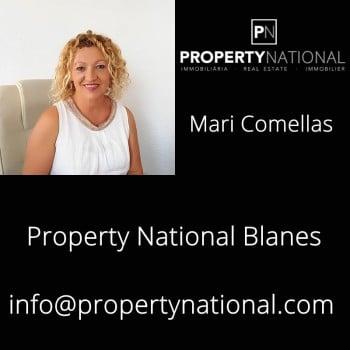 Property National. Comercial de la Inmobiliaria. Mari Comellas