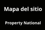 Mapa del sitio web de Property National. Agencia Inmobiliaria de Blanes