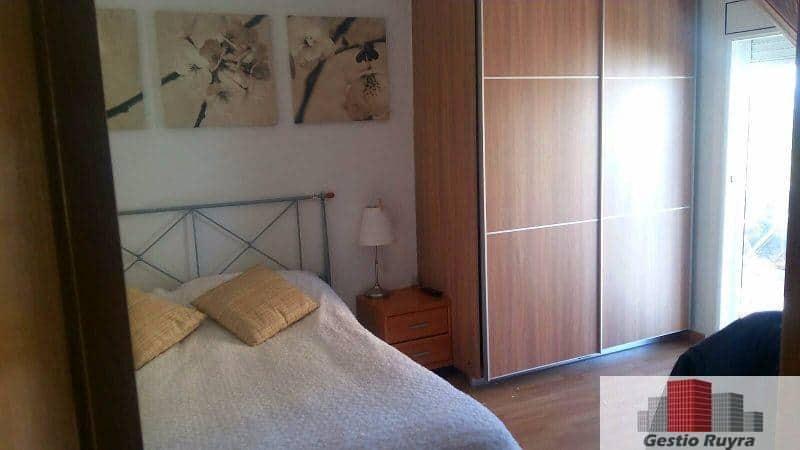 Apartamento junto al mar. 2 Habitaciones. Los Pavos. Blanes 10. Dormitorio con armario
